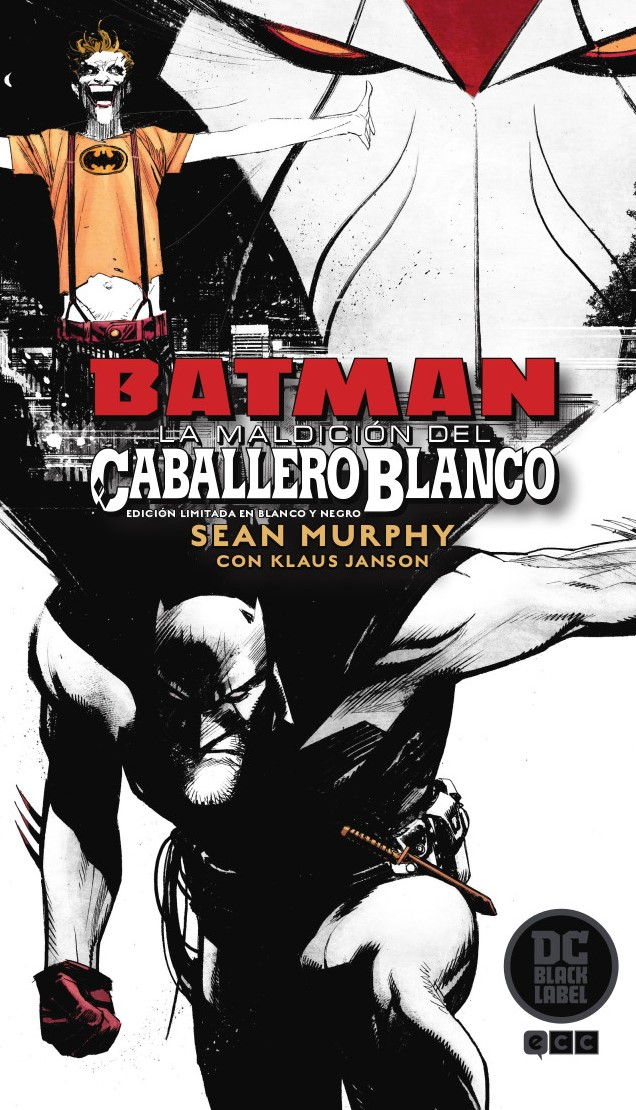 Batman: La maldición del Caballero Blanco - Edición Deluxe limitada en blanco y negro