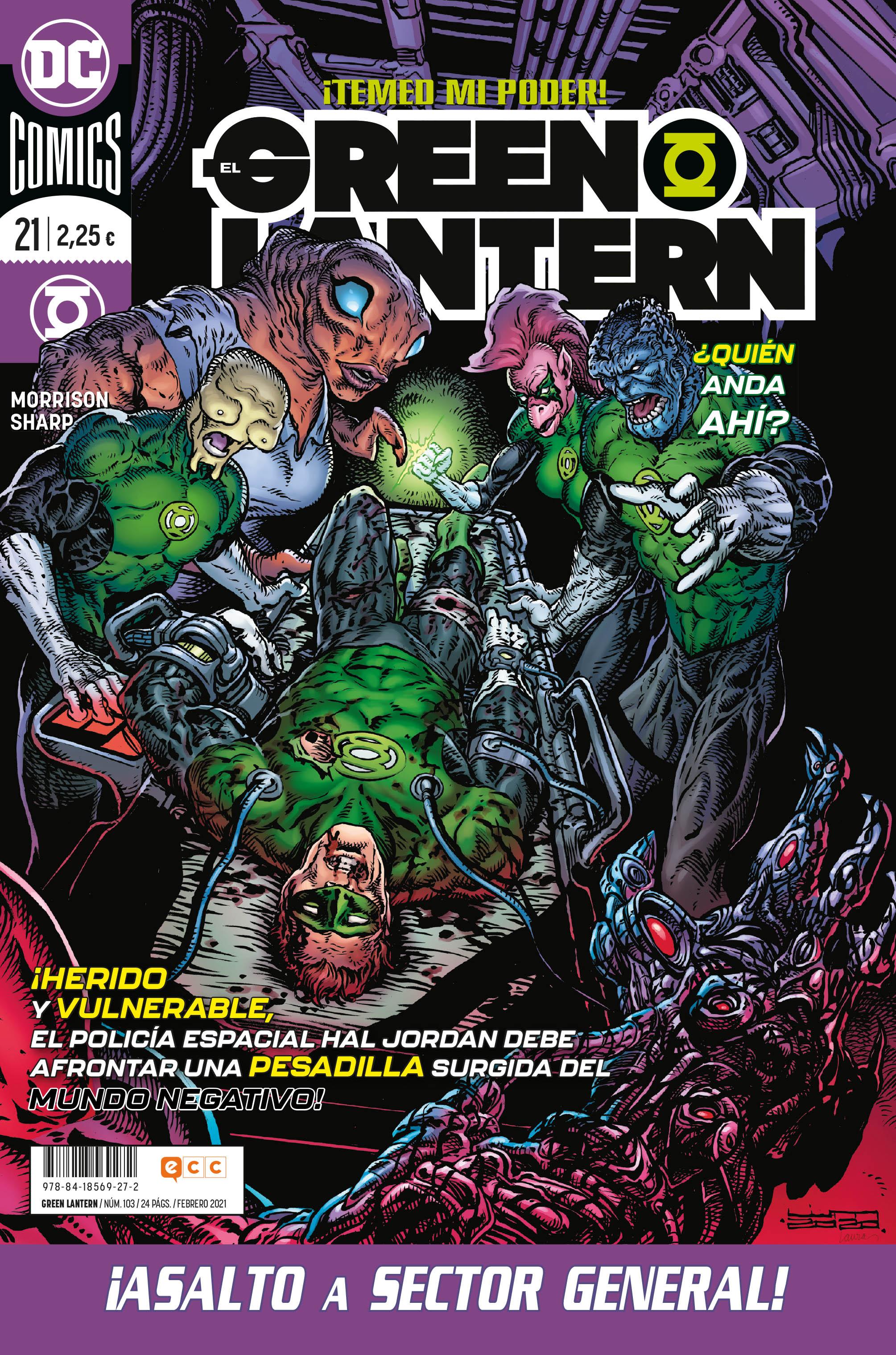 El Green Lantern #103 / 21
