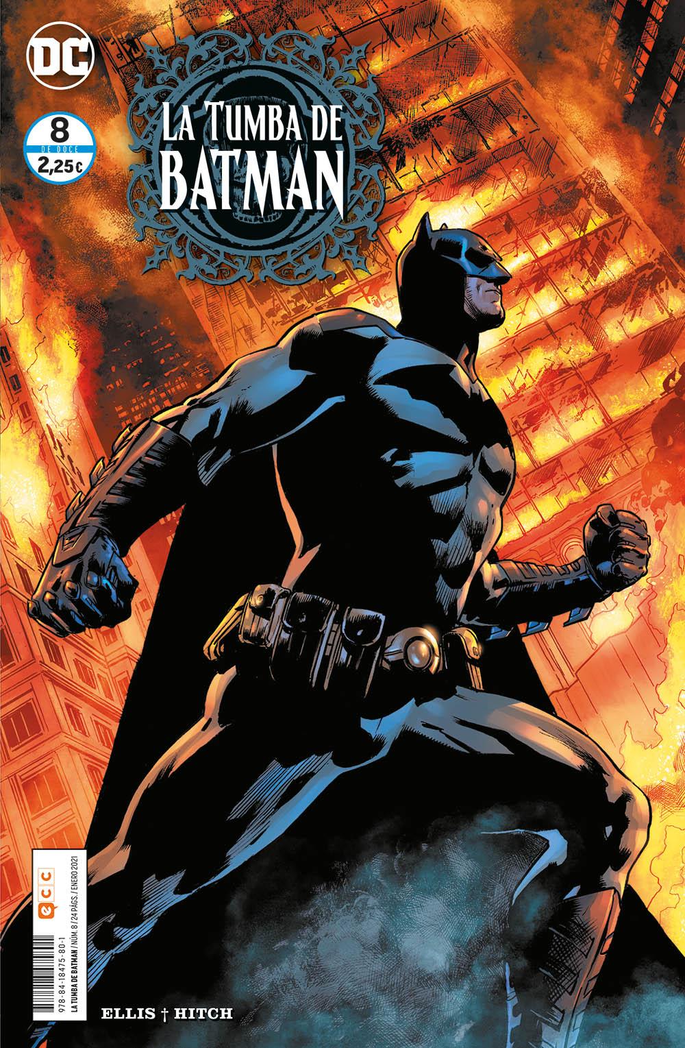 La tumba de Batman #08 de 12