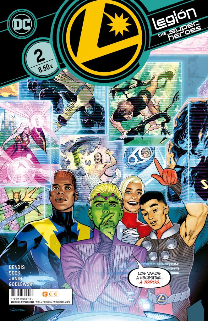 Legión de Superhéroes #02