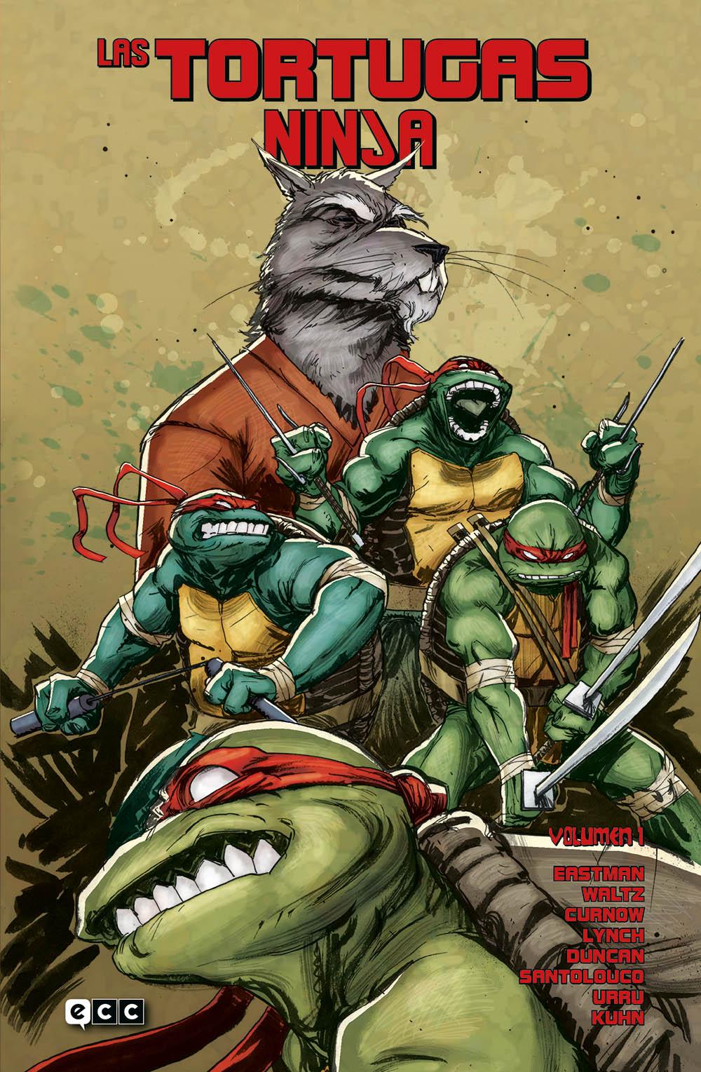 Las Tortugas Ninja Vol.01