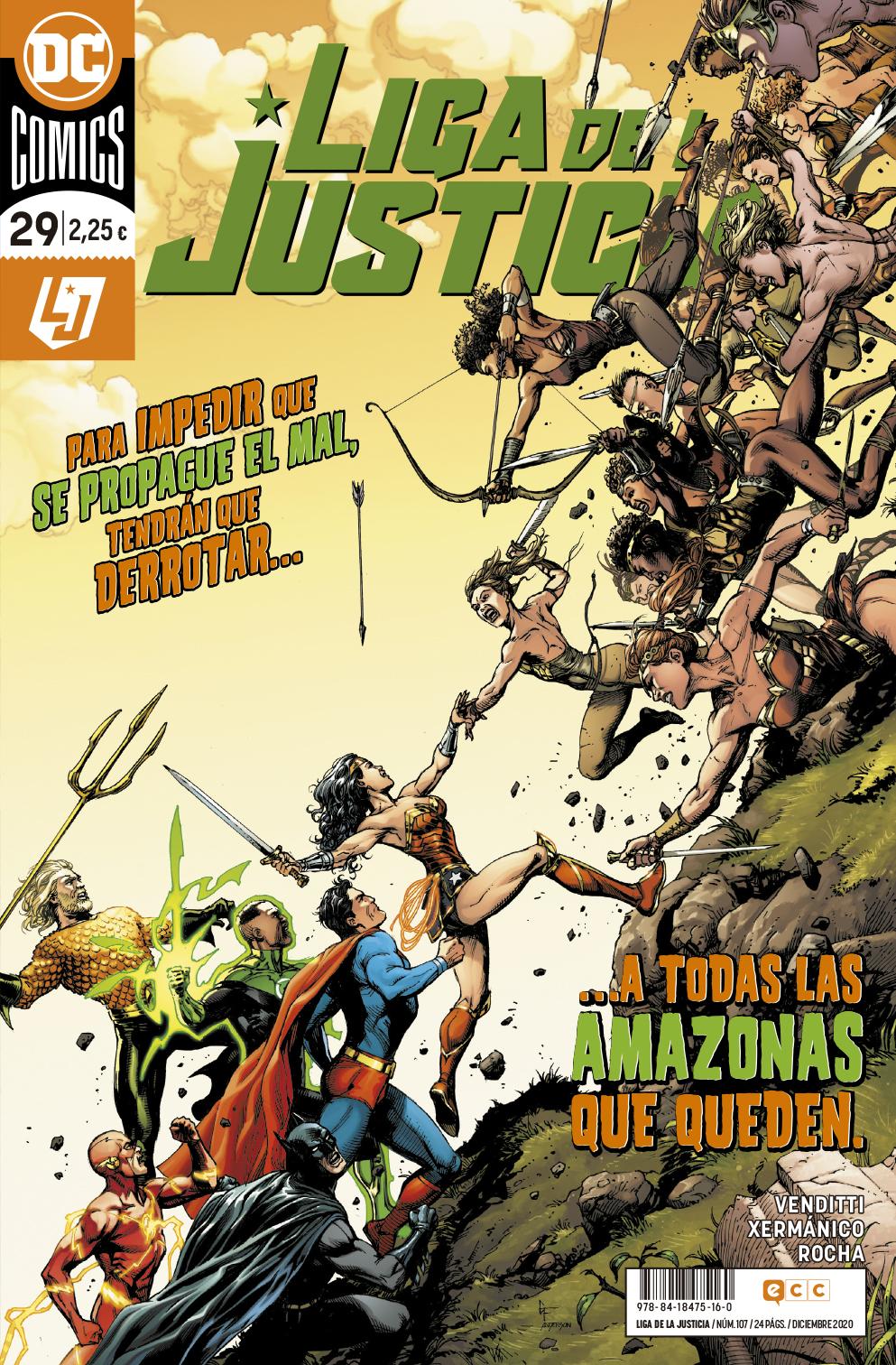 Liga de la Justicia #107 / 29
