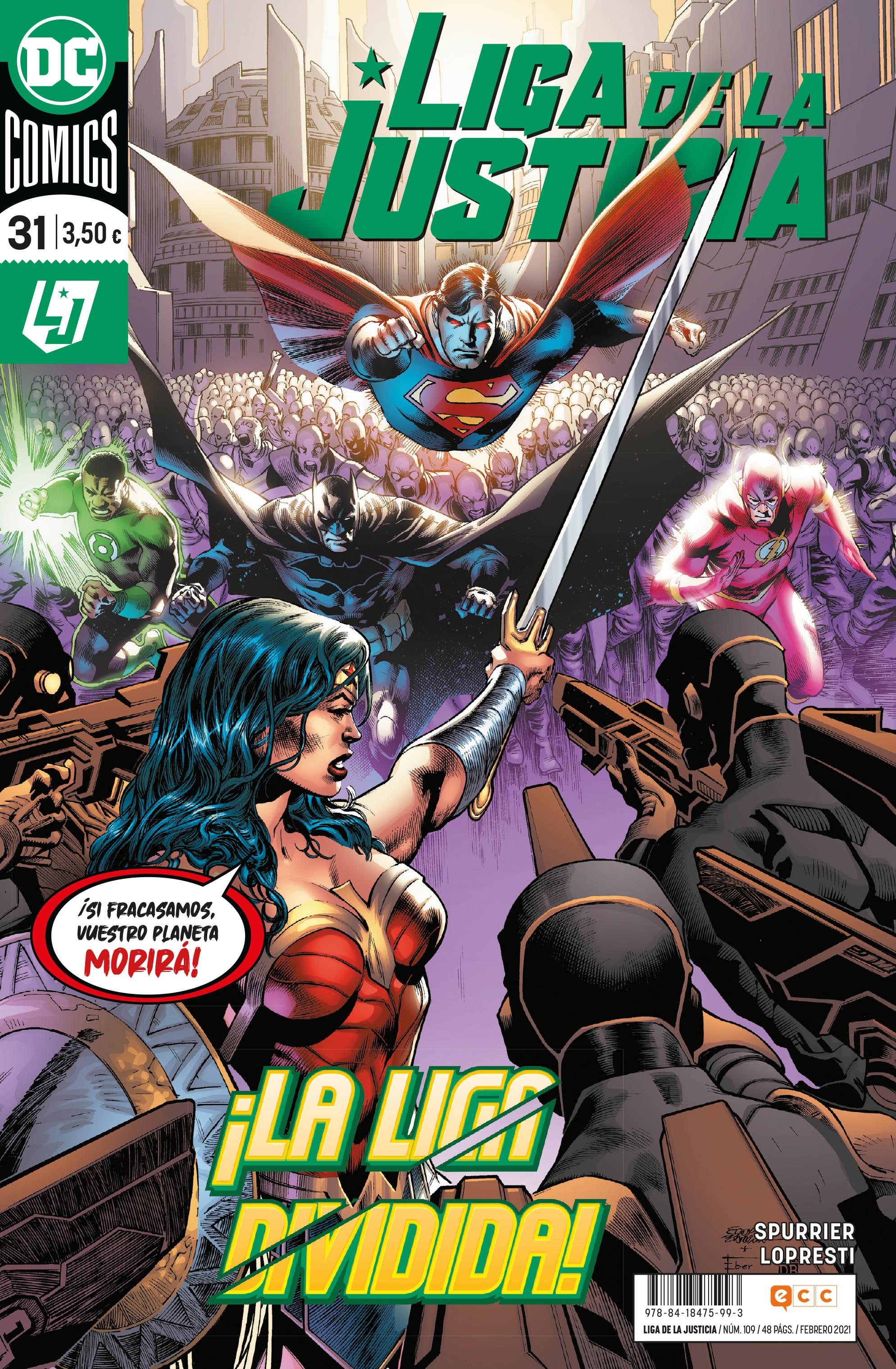 Liga de la Justicia #109 / 31