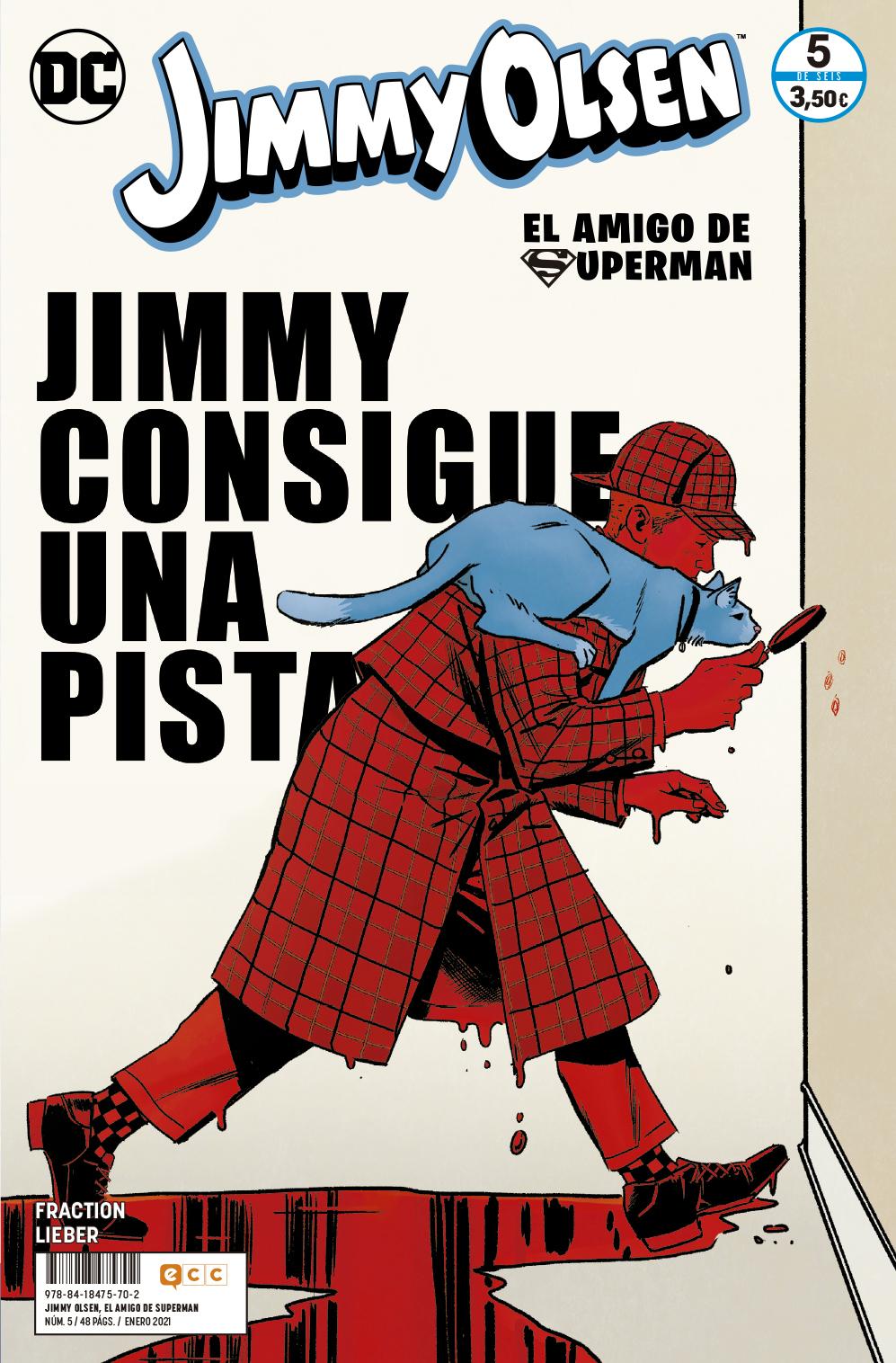Jimmy Olsen, el amigo de Superman núm. 05 de 6