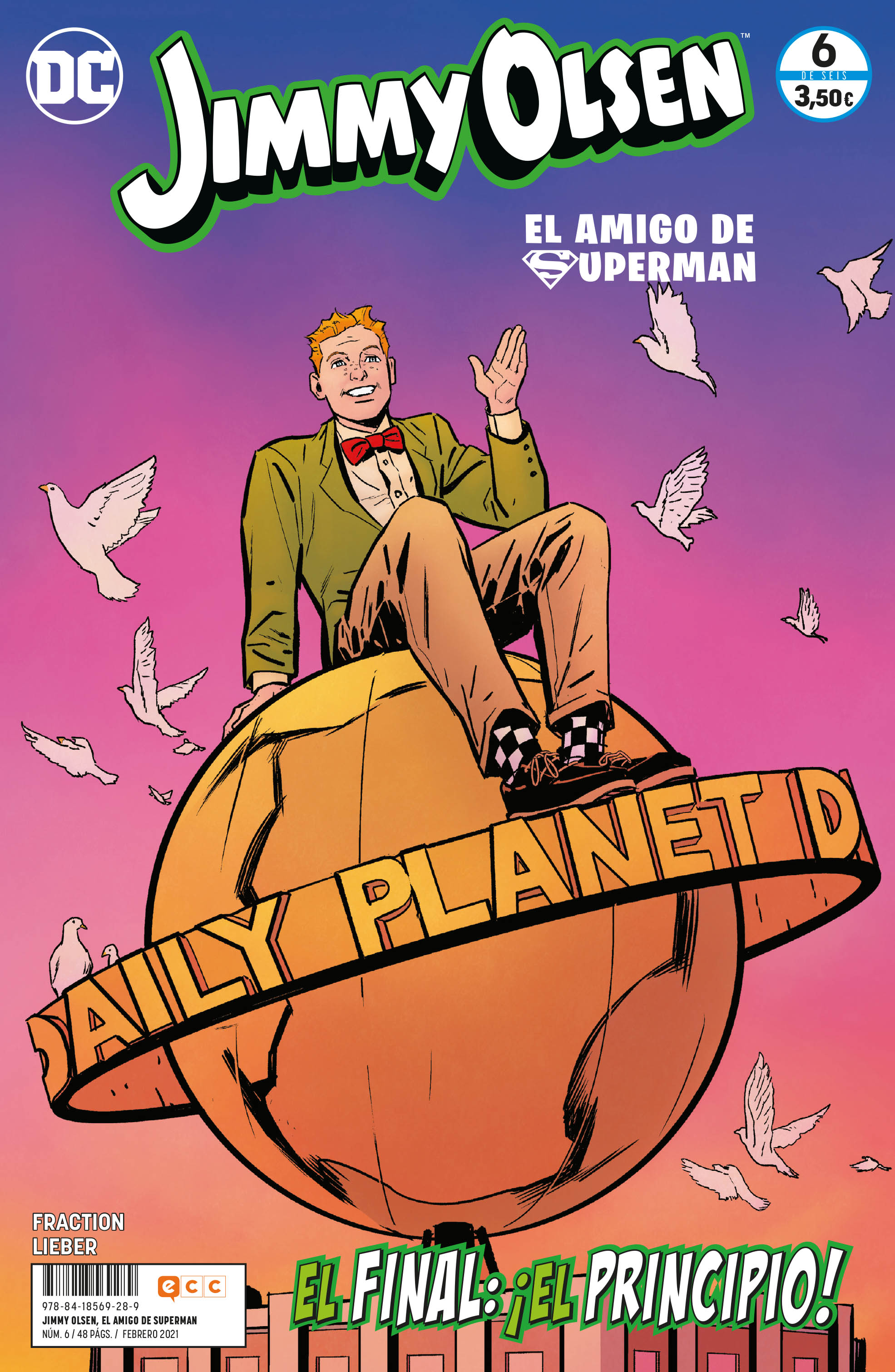 Jimmy Olsen, el amigo de Superman núm. 06 de 6