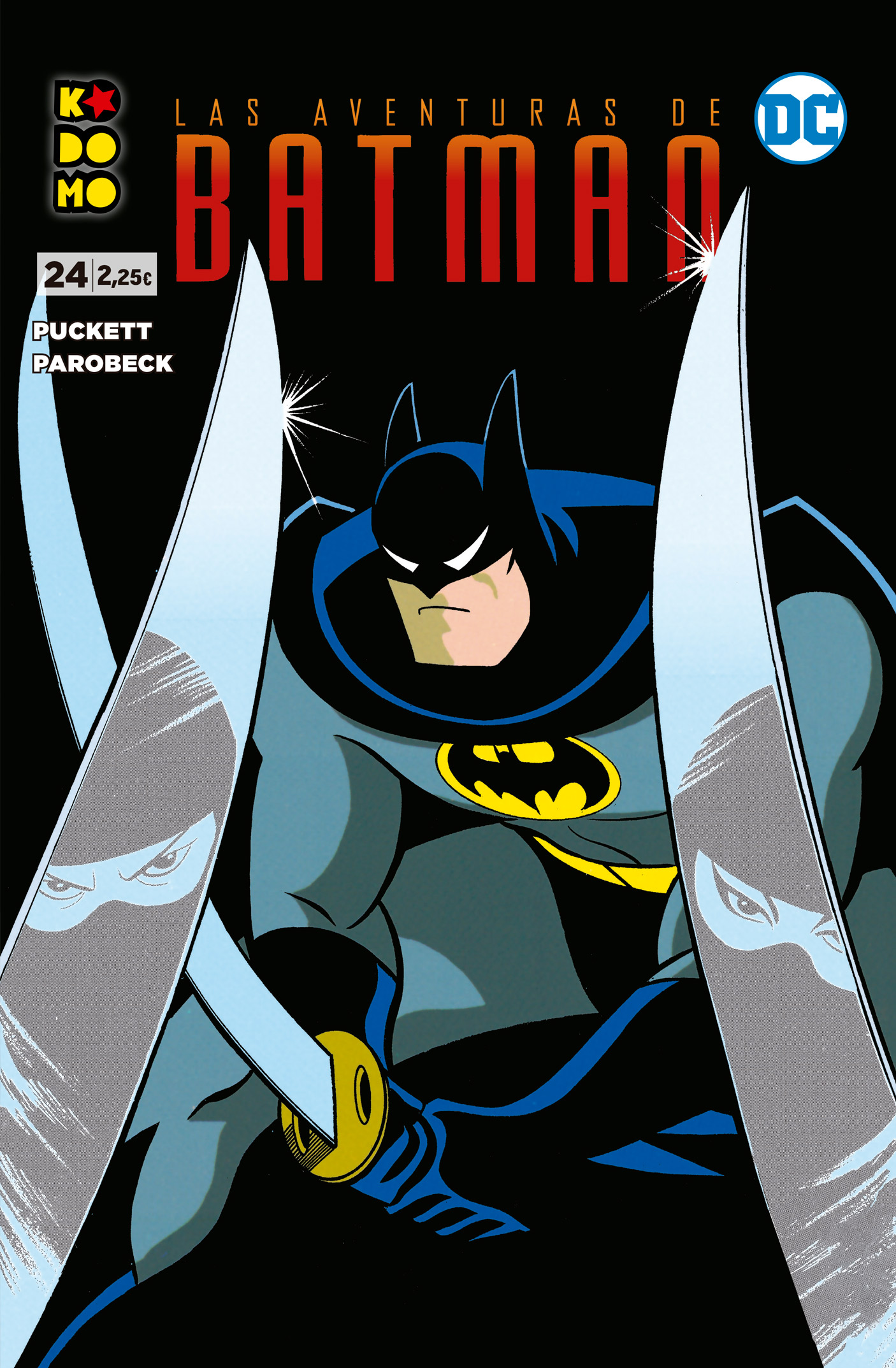 Las aventuras de Batman núm. 24