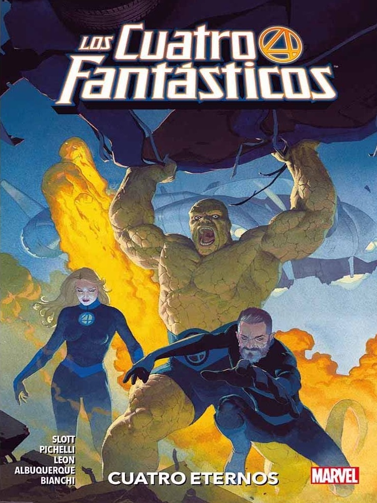 Los 4 Fantásticos - Cuatro Eternos