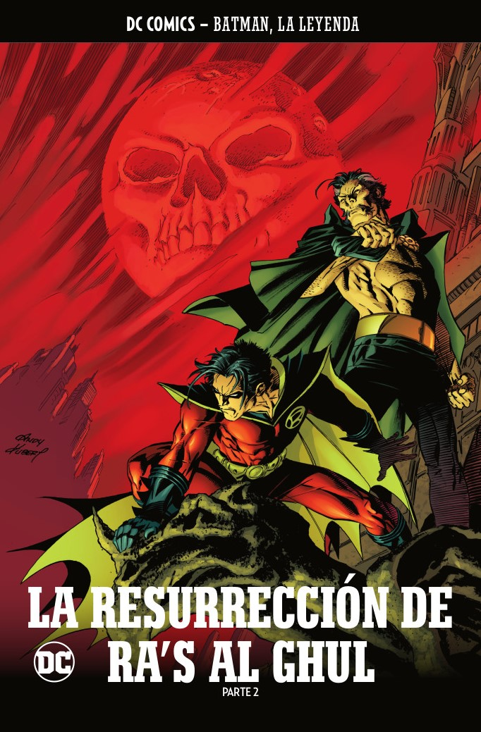 BATMAN, LA LEYENDA #46: LA RESURRECCIÓN DE RA´S AL GHUL Parte 2