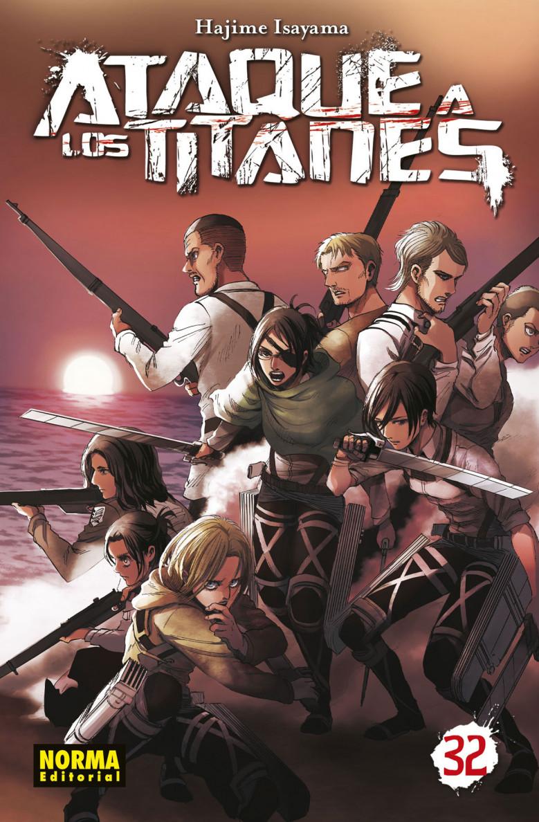 Ataque a los Titanes #32