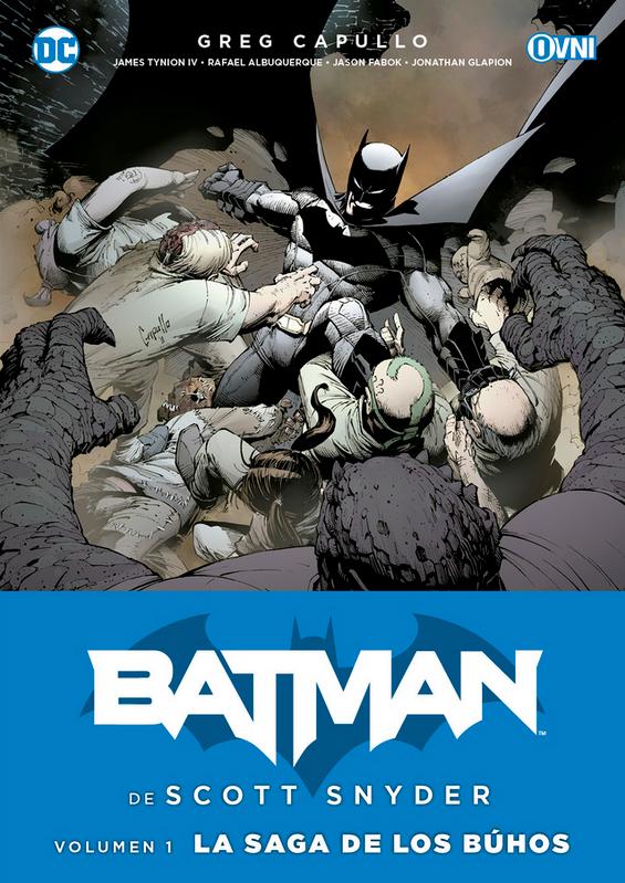 BATMAN DE SCOTT SNYDER Vol.1: LA SAGA DE LOS BÚHOS