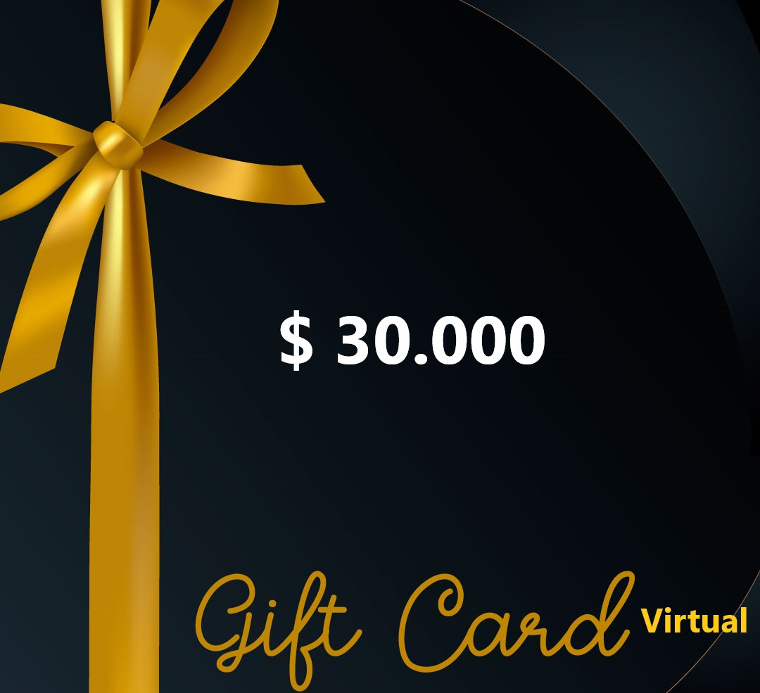 Gift Card 30 mil