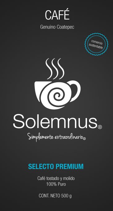 CAFÉ CONVENCIONAL (REFILL) SOLEMNUS BOLSA 1 KG
