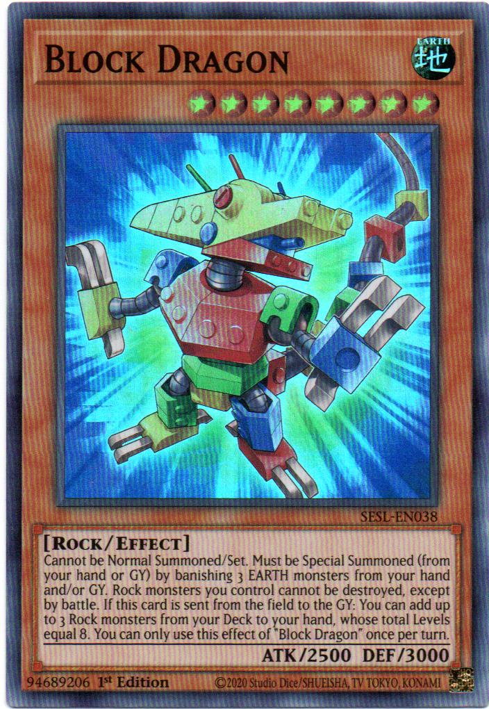 Carta Yugi Block Dragon SESL-EN038