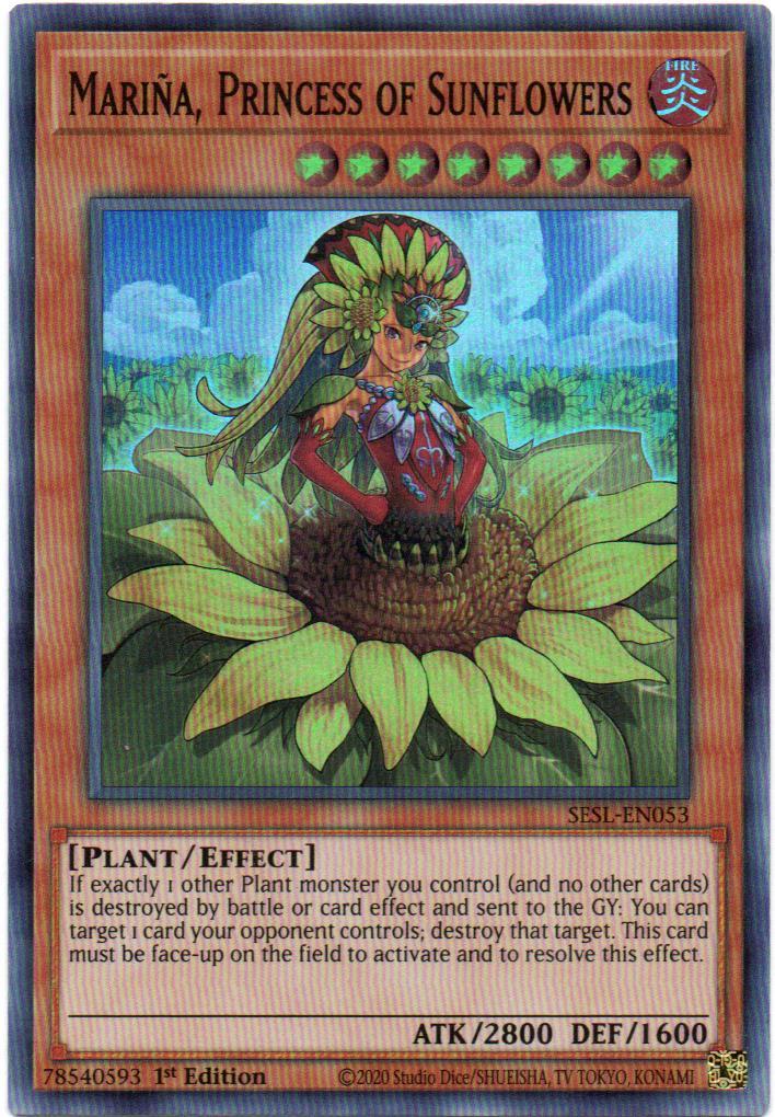 Carta Yugi Mariña, Princess of Sunflowers SESL-EN053