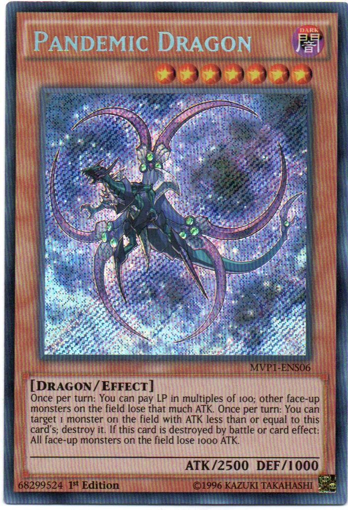 Carta Yugi Pandemic Dragon MVP1-ENS06