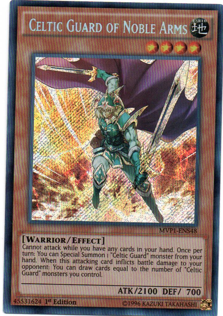 Carta Yugi Celtic Guard of Noble Arms MVP1-ENS48