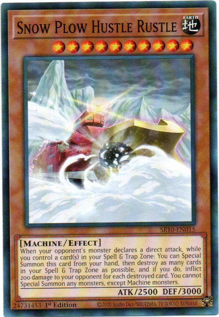 Carta Yugi Snow Plow Hustle Rustle