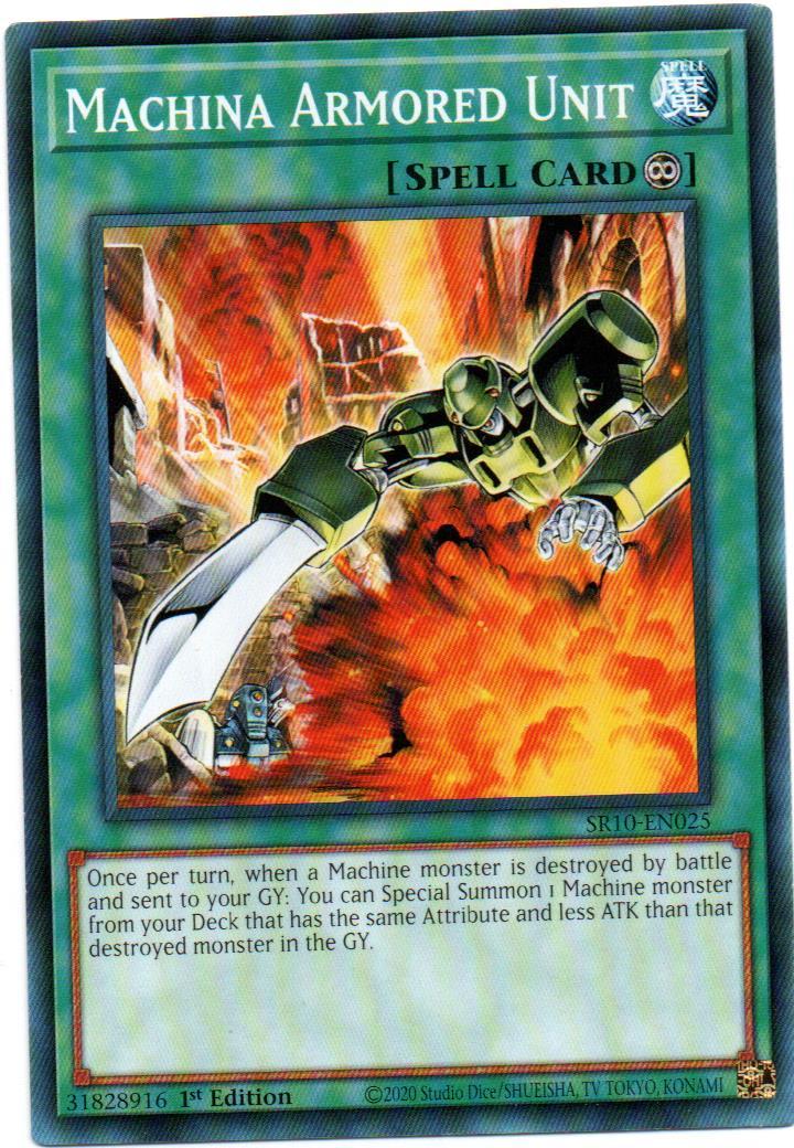 Carta Yugi Machina Armored Unit