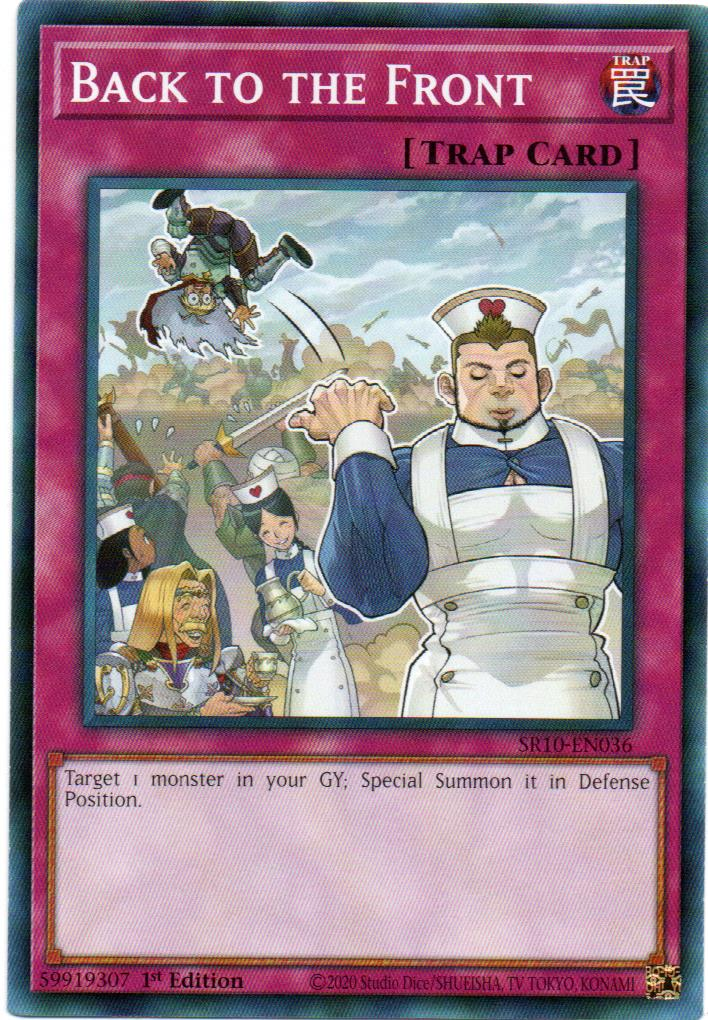 Carta Yugi Back to the Front