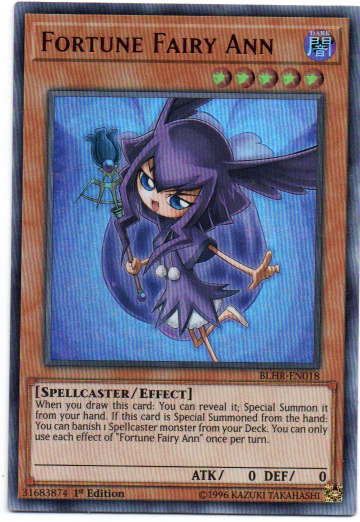 Fortune Fairy Ann Carta yugi BLHR-EN018