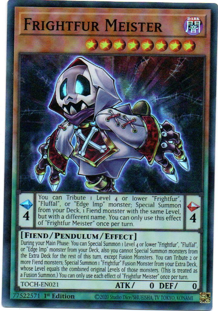 Frightfur Meister Carta Yugi TOCH-EN021