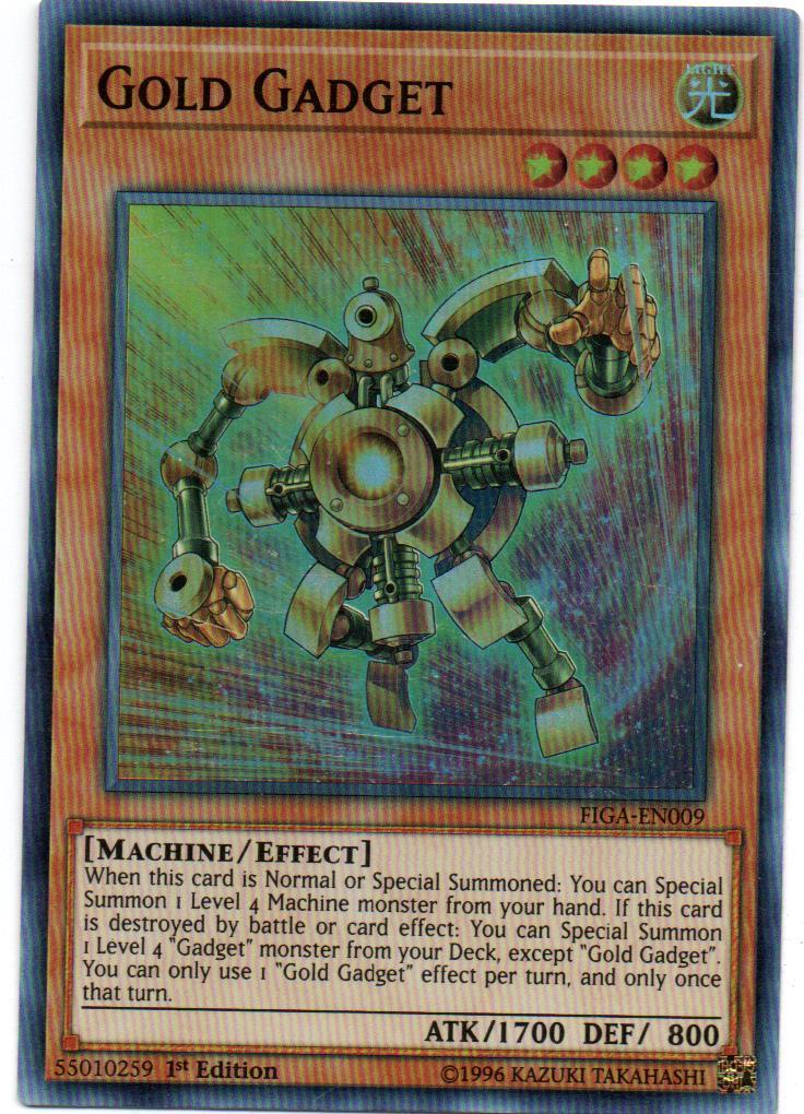 Gold Gadget Carta yugi FIGA-EN009