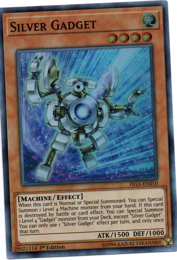 Silver Gadget Carta yugi FIGA-EN010