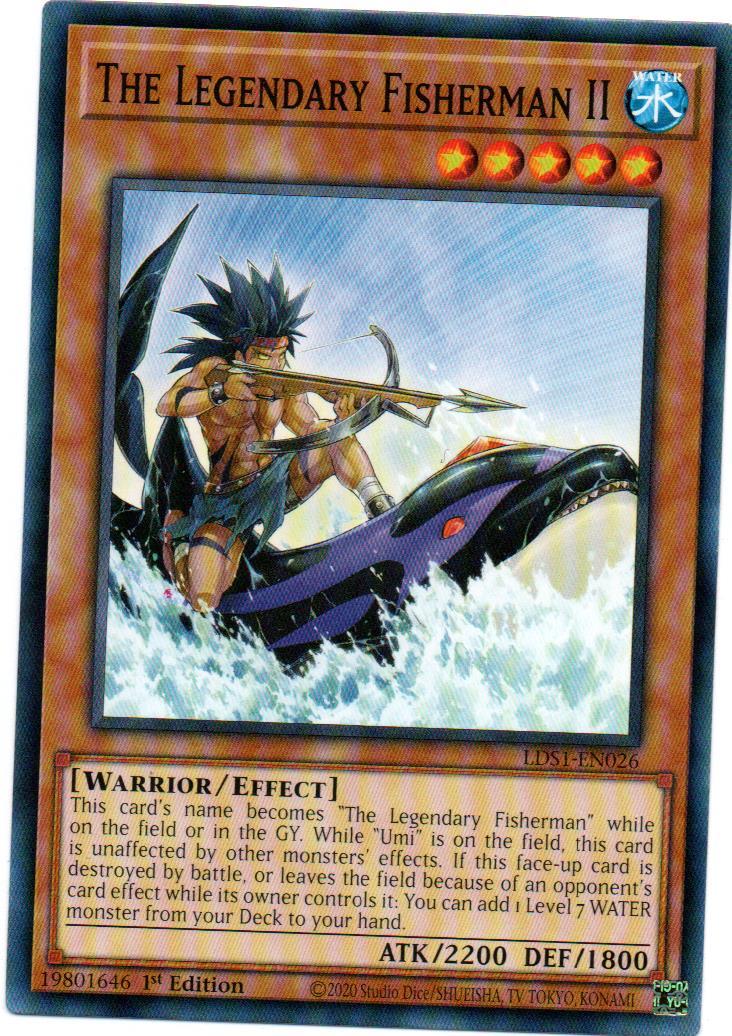 The Legendary Fisherman II Carta Yugioh LDS1-EN026