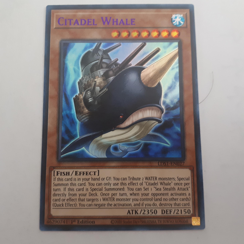 Citadel Whale Carta Yugioh LDS1-EN027