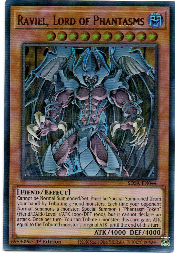 Raviel, Lord of Phantasms Carta yugi SDSA-EN044
