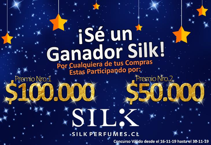 Concurso Sé Nuestro Ganador Silk