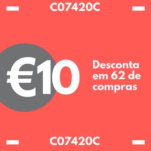 Cupão 10 Euros