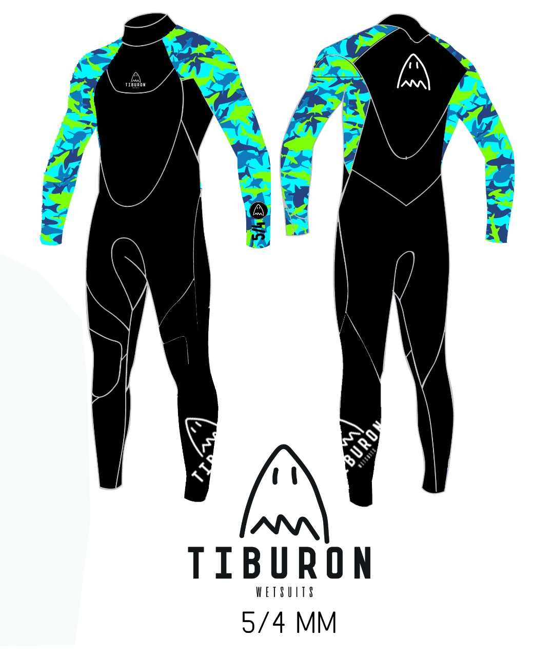 TIBURON PARTY SHARK 5/4 MM