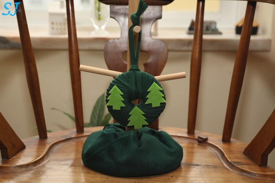 Mini Grinalda Verde Escuro