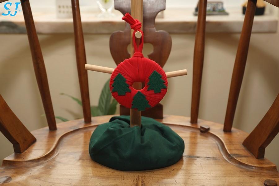 Mini Grinalda Vermelha