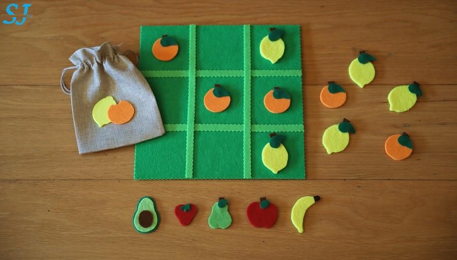 Jogo do Galo - Frutos