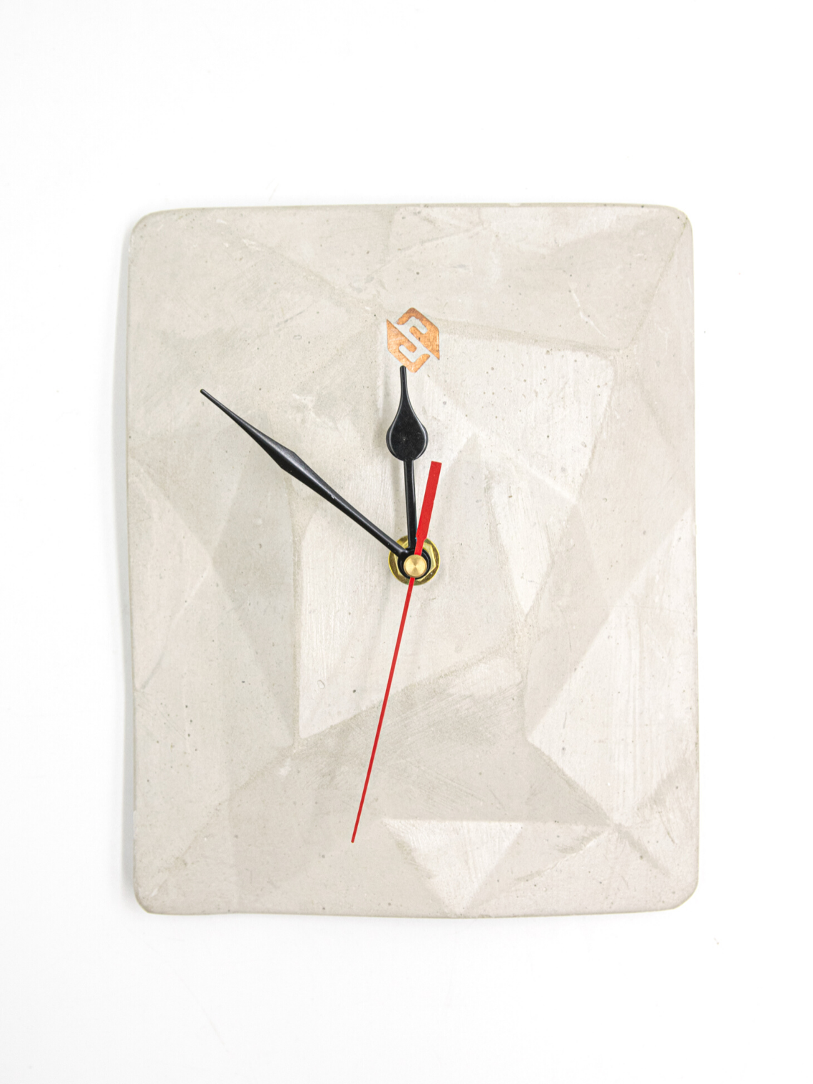 Reloj Abstracto pedestal