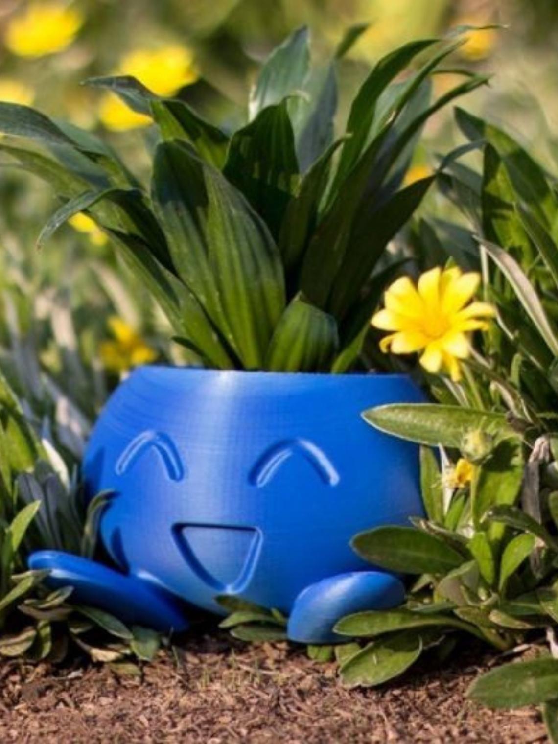 Macetero Oddish- Pokemón™ - Deco Hormigón