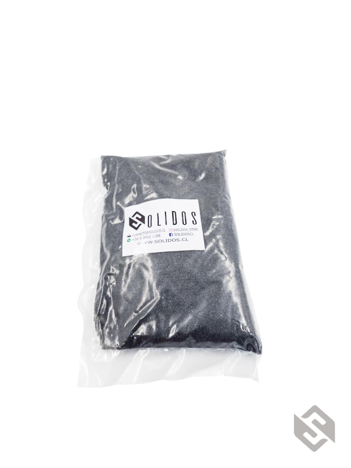 Arena de cuarzo  negro (1kg)
