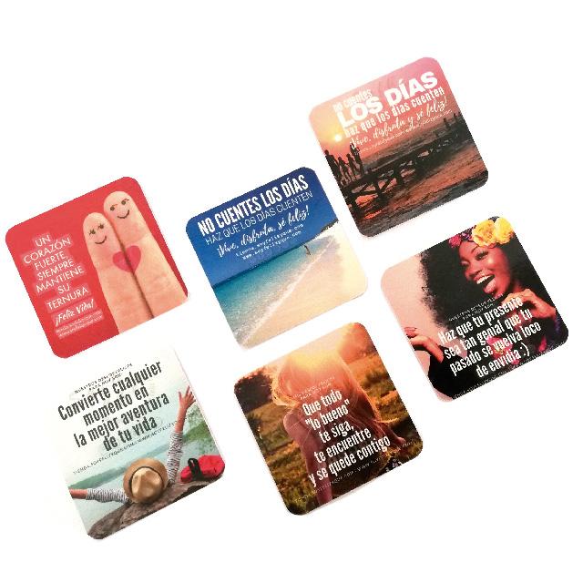 Coasters2 (Pack 6 Posavasos Diferentes Diseños - Edición Limitada)