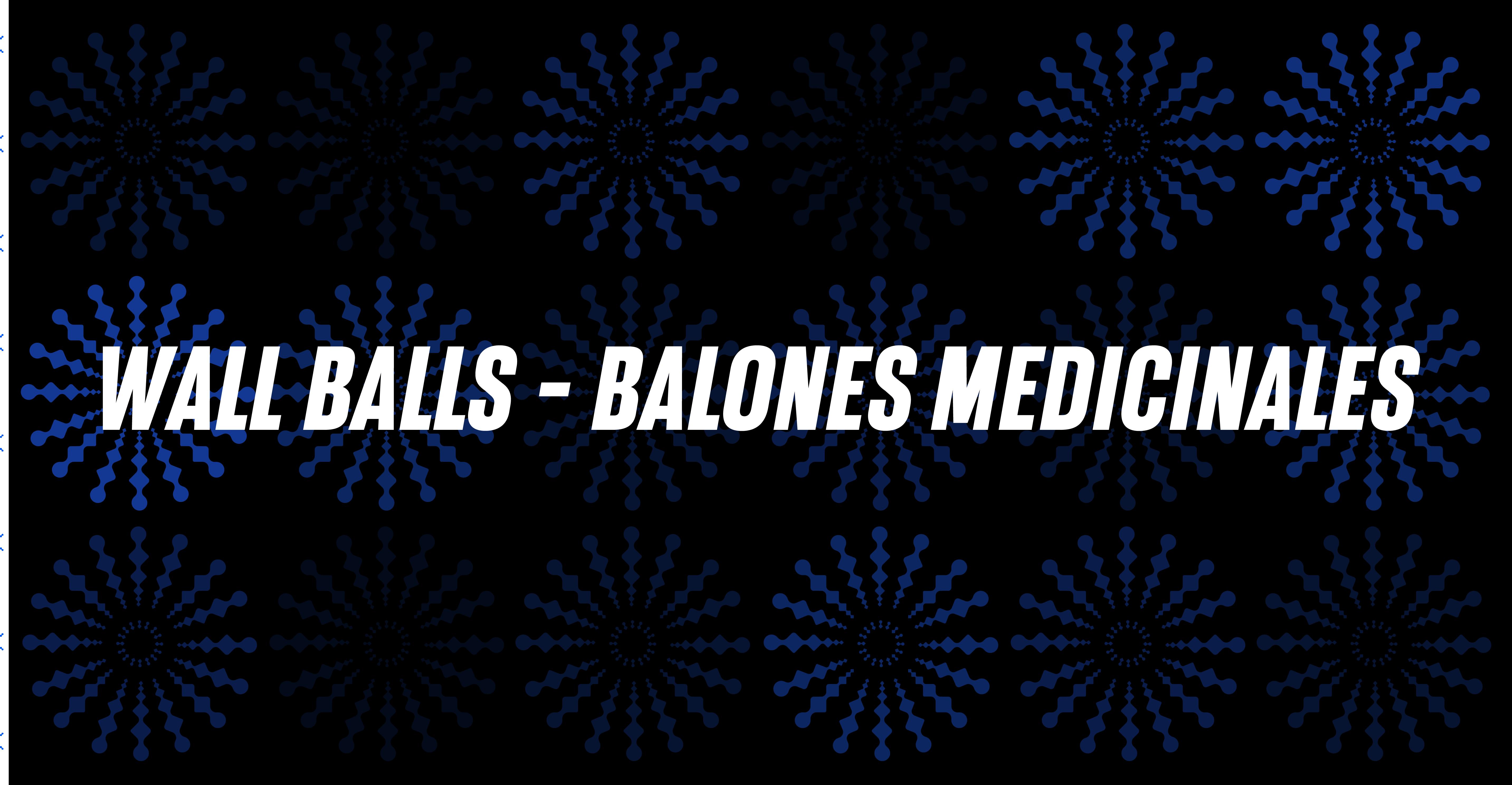 Wall Balls & Balones Medicinales