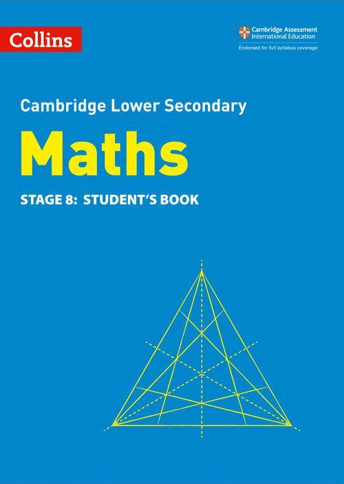 Collins Cambridge Lower Secondary Maths - Lower Secondary Maths Student's Book: Stage 8