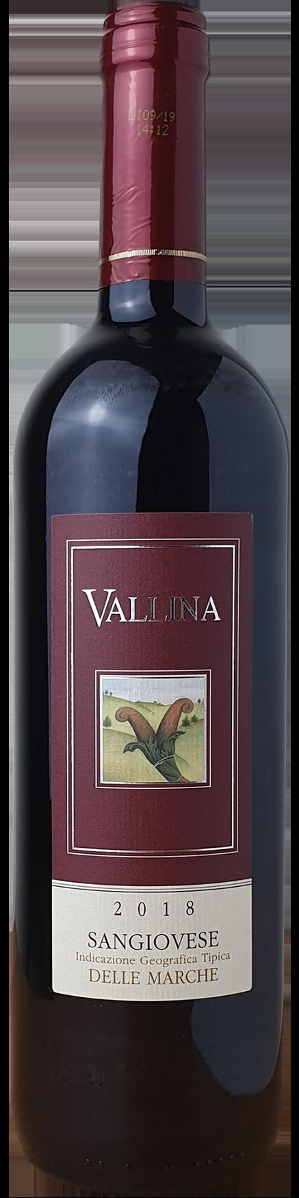 2018 Vallina Sangiovese