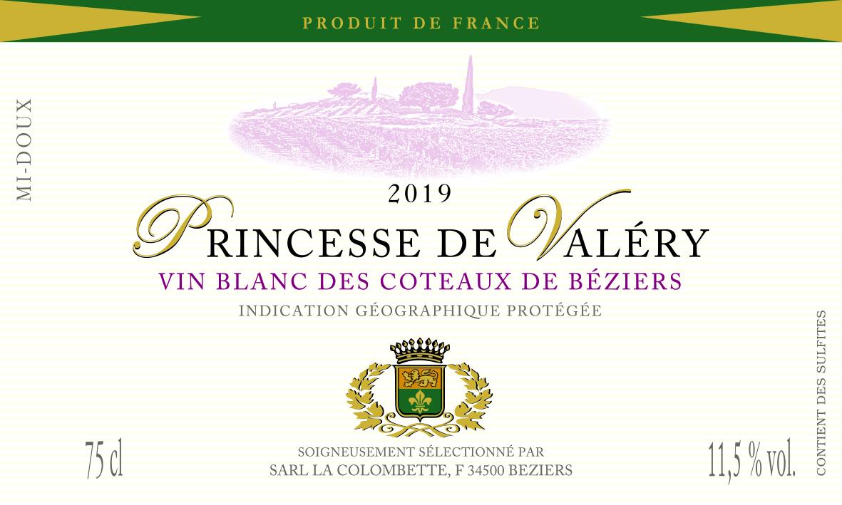 2019 Princesse de Valéry