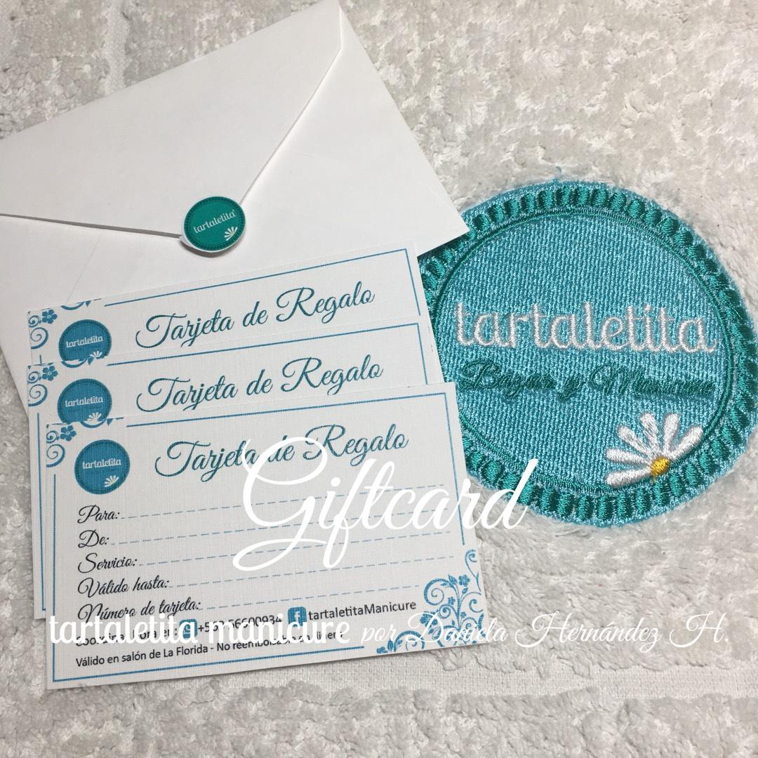 Giftcard de Manicure con @tartaletitaManicure - Vigencia: 1 mes a partir de la fecha de compra