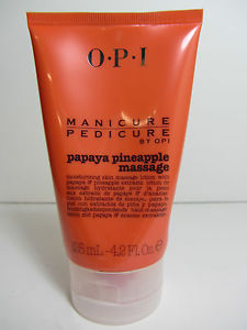 Loción OPI Manicure Pedicure Papaya Pinapple Massage 125 ml