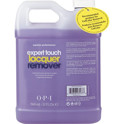Quitaesmalte OPI Expert Touch Lacquer Remover 960 mL