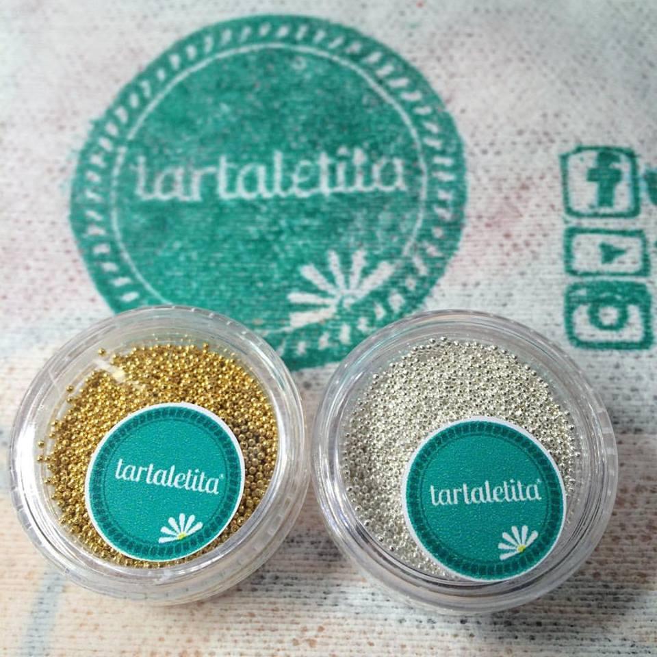 Buliones/Caviar Dorado y Plateado