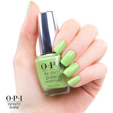 Esmalte OPI Infinite Shine - To The Finish Lime!