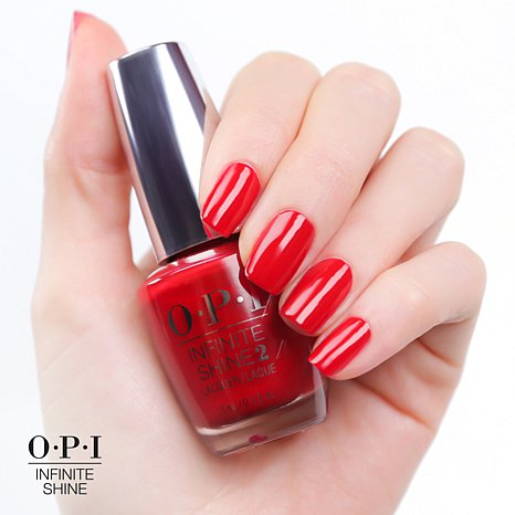 Esmalte OPI Infinite Shine - Unequivocaly Crimson